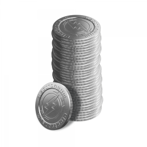 Coin stack – tall