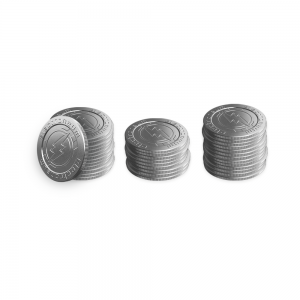 Coin stack – wide